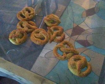 Fresh pretzels