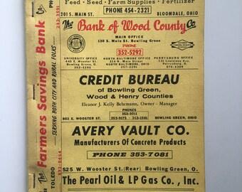 1968 Ohio Rural Directory
