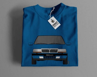 T-shirt Lancia Thema Turbo 16v | Gent, Lady and Kids | all the sizes | worldwide shipments | Car Auto Voiture