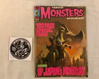 Famous Monsters Of Filmland #114