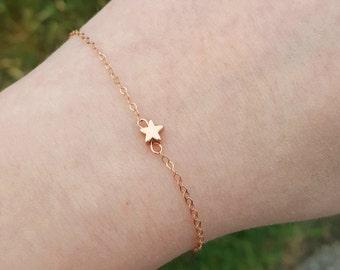 Star Bracelet-Rosegold