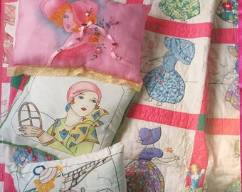 Design Originals Ladies of Leisure Vintage Quilts Linens & More Pattern Book by Suzanne McNeill