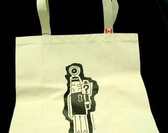 Character(Robot/Alien) Tote bag