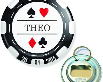 EVG poker bottle opener key 56mm