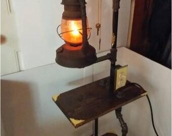 7 Standing Lantern Table Lamp