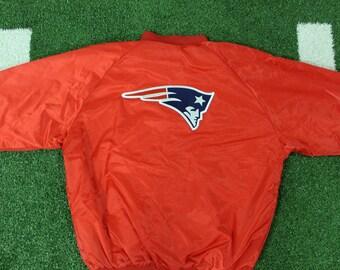 New England Patriots Jacket + FREE HAT