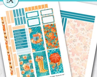 Passion Planner Stickers * Classic Sized Passion Planner * Printable Planner Stickers - READY FOR FALL - Digital Download