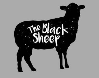 The Black Sheep SVG