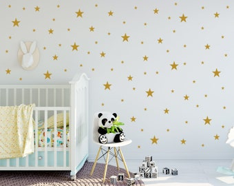 Stars Wall Decals Nursery / Nursery Wall Decal. Star Wall Decal. Star Wall  Stickers