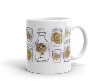 Herb Jars Mug