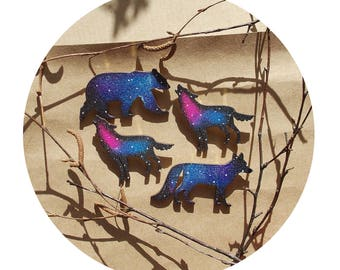 cosmic brooches