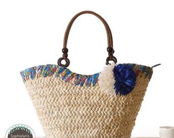 Bohemien Woven Straw Bag