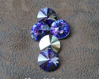 1 cabochon Crystal Austrian vintage 1122, various patterns