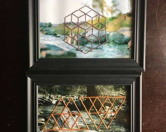Geometric Embroidered Photos