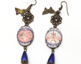 Vintage Paris earrings
