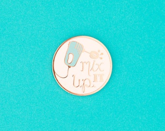 Mix It Up Enamel Pin