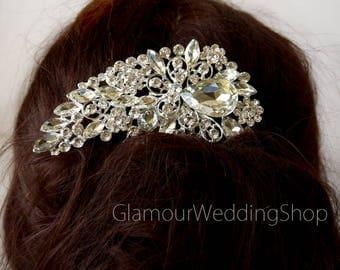 Wedding Hair Comb Rhinestone Hair Comb Wedding Jewelry Bridal Hair Comb Bridesmaid Comb Bridal Jewelry flower girl Wedding Accessory Daisy