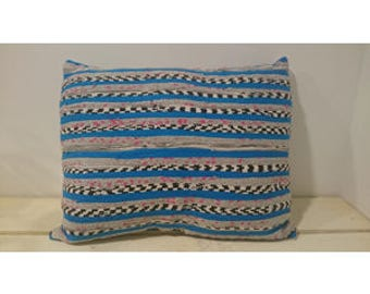 Ethnic blue Cushion cover