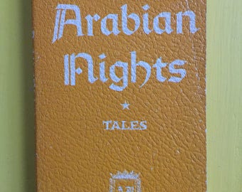 "Arabian Nights - Vintage ""Leatherette"" cover"