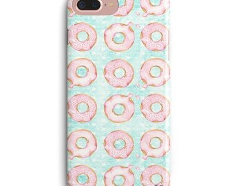 Issa Donut Party iPhone X Case, Cute iPhone X Case, Cute iPhone 8 Plus Case, Cute iPhone 7 Plus Case, Cute iPhone 6 Plus Case,