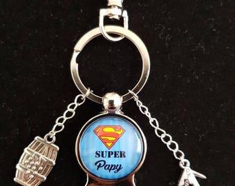 """Key man bottle opener """"Great Grandpa"""""""
