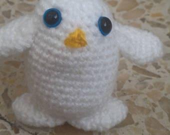 Mini Penguin amigurumi crochet
