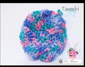 Sponge tawashi face scrub / face Scrubbies / disco gomando