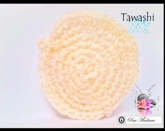 Sponge tawashi face scrub / face scrubbies /disco gomando