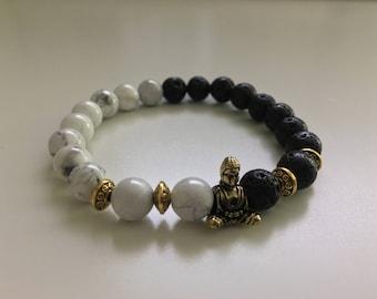 Buddha Gold Style Bracelet