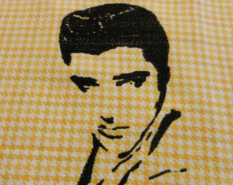 Elvis Embroidered Towel