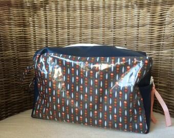 toiletry bag / vanity leatherette