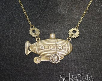 """Steampunk chain """"Air ship"""""""
