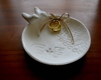 wedding ring holder (personalized by demand)