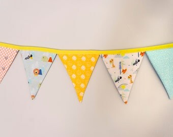 Animal Friends Fabric Bunting