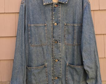 Vintage 90's Gap Denim Jacket L