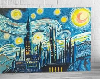 Van Gogh - Harry Potter Castle