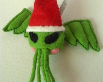 Cthulhu christmas tree decoration