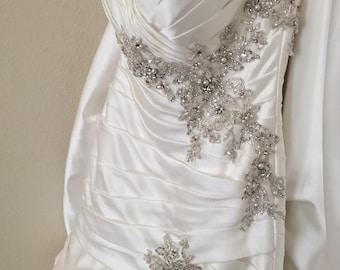 Gorgeous Mori Lee Mermaid Style Wedding Gown