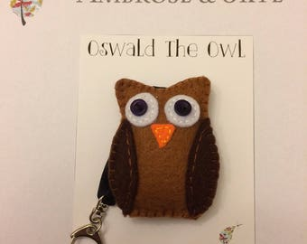 Oswald the Owl Keyring