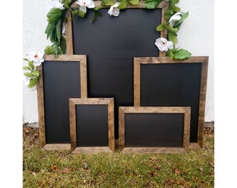 Custom Calligraphy AND Chalkboard Sign | Welcome Signs | Home Decor | Menu Sign | Seating Board | Wedding Program | Wedding Signage | Etc.