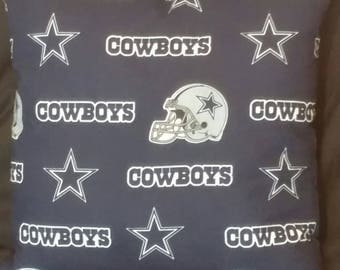 Dallas Cowboys Pillows Room Decor NFL Christmas Office Sports Football Gift  Sale Navy Birthday Pillow Square cowboy pillow Etsy