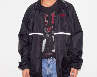 Windbreaker Jacket, 90s Windbreaker, 90s Clothing, Sports Illustrated, Lightweight Jacket, Track Jacket, Normcore, 90s, Windbreaker, Minimal