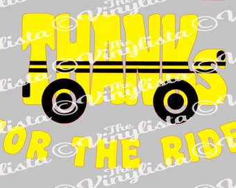 Thanks for the Ride school bus svg file, cut files, bus driver, gift, thank you