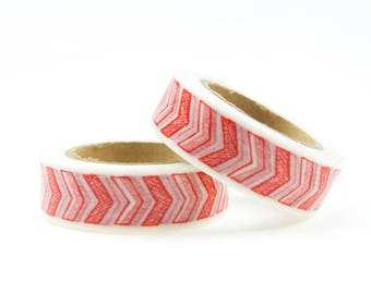 Washi tape with red arrows