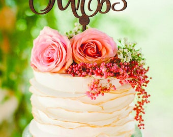 Mr and Mrs Wedding cake topper Customized wedding cake topper Cake topper for wedding Custom cake topper Mr & Mrs Cake Topper for Wedding