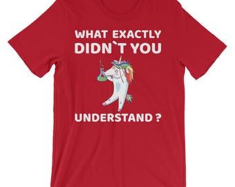 Funny Unicorn Shirt - Chemistry Fun Science Student Chemist Humour Dab Dance Men Women Kids T-Shirt