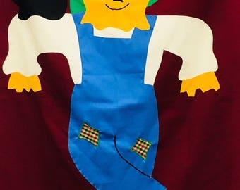 Decorative Flag: Scarecrow