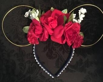 Briar Rose (Floral) Ears