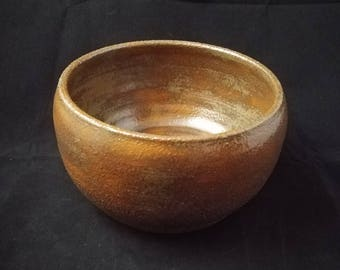 Copper Glazed Stoneware Decorative Pot
