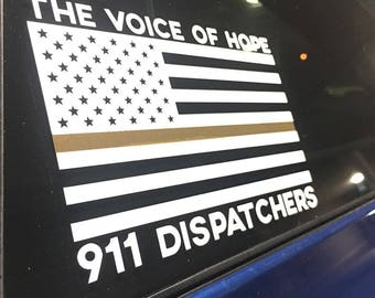 Thin Gold Line for Dispatchers